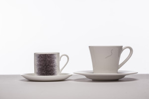 'Brazillian' Coffee Cup and 'Stray' Tea Cup.